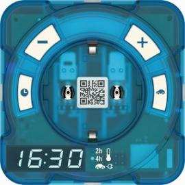 theben-timer ® AT-1 Hybrid DIGITAL 4h res 16A IP20