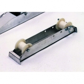 PAIR OF ROLLING TRACK
