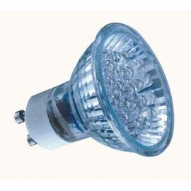 MULTILED LAMP 230V AC GU-10 20 led 0,8W WHITE