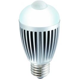 LED LAMP 6W E27 5000K (pure white) with SENSOR