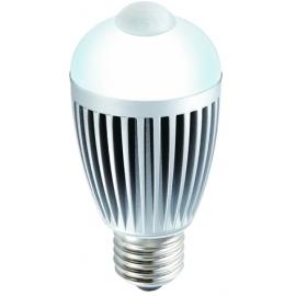 e6 LAMPADA LED 6W E27 5000K (branco puro) C/SENSOR