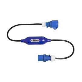 CONTADOR ENERGIA DIGITAL ABS IP54 230V 16A C/ CEE