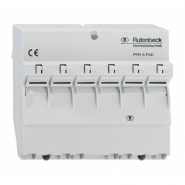 PoE PATCH PANEL DIN RAIL PPR 6