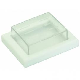 PROTECCAO PVC BRANCO 2 POLOS