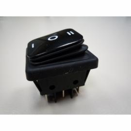 INTERRUPTOR PAINEL PRETO IP65 I/O/II 16A 250V