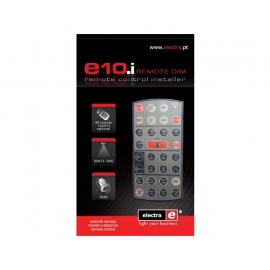 10.i REMOTE CONTROL FOR THE INSTALLER