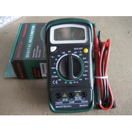 MULTIMETRO DIGITAL MASTECH 830L CACC 600V 10A