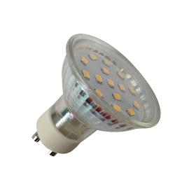 LAMPADA LED SMD GU10 3.2W 110º 3000K 300 lm