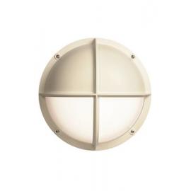 WHITE OPAL PLAFOND NEPTUNE 001 60W E27 IP65 IK10