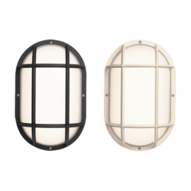 NEPTUNE 002 CROSS OPAL BLACK1X35W IP65