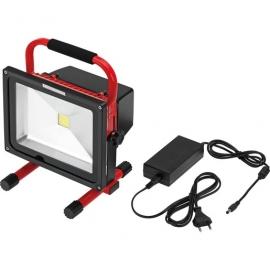 PROJECTOR 30W COB LED 6000K RECAR. 2000 lumen IP65