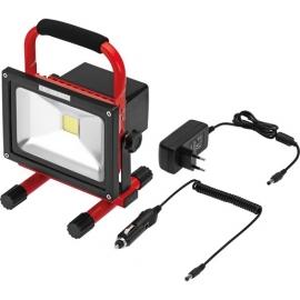 PROJECTOR 20W COB LED 6000K RECAR. 1300 lumen IP65
