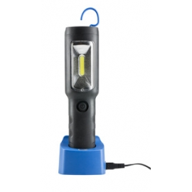 GAMBIARRA PROFI 3W+1W LED IP54 230V RECARREGAVEL