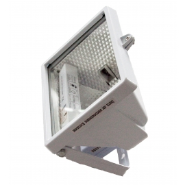 PROJECTOR HALOG 120W, BRANCO COM LAMPADA IP54
