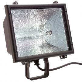 Enclosure for building site halogen light IP 65 10