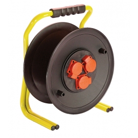 Professional cable reel 320mmØ empty for 50m cable