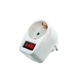 Safety socket white