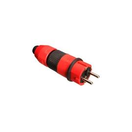 PLUG AND SOCKET RED/ BLACK IP54 16A 250V P/3X2,5