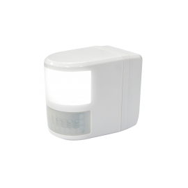 e11 DETECTOR MOVIMENTO 180o IP54 + LED Night Light