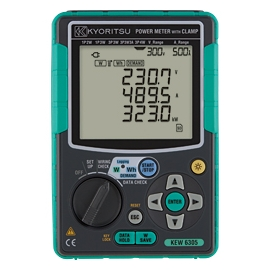 ANALISADOR REDE + 3x KEW 8130 (1000ACA) 6305-03