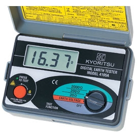 EARTH TESTER 200V CA 2000 OHMS IP54
