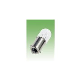 LAMPADA FILAMENTO 6,3V BA9S 10X28 1W 150MA