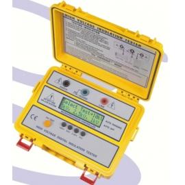 MEGAOHMIMETRO DIGITAL 1000/2500/5000/10kV