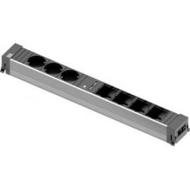 CONF 3xSCHUKO + 4x ESPACOS + 2x CARREGADORES USB