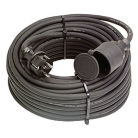 Neoprene rubber cable extension 5m H07RN-F 3G1,5 b