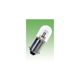 LAMPADA NEON 220V BA9S 9X25 VIDRO CLARA